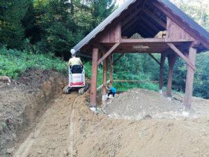 Gradnja finske saune